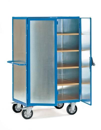 Schrankwagen Stahl pulverbeschichtet Traglast (max.): 750 kg Brillantblau (RAL 5007) Fetra 5492