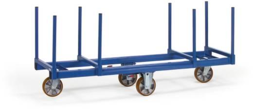 Langmaterial-Wagen Stahl pulverbeschichtet Traglast (max.): 1200 kg Fetra 2111