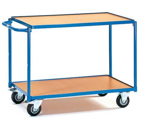 Tischwagen Stahl pulverbeschichtet Traglast (max.): 250 kg Brillantblau (RAL 5007) Fetra 2942