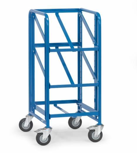 Etagenwagen Stahl pulverbeschichtet Traglast (max.): 250 kg Brillantblau (RAL 5007) Fetra 2380