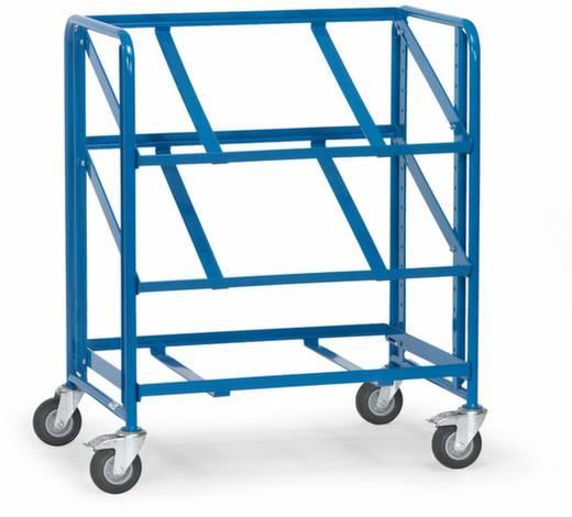 Fetra 2390 Etagenwagen Stahl pulverbeschichtet Traglast (max.): 250 kg Brillantblau (RAL 5007)