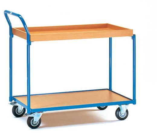 Tischwagen Stahl pulverbeschichtet Traglast (max.): 250 kg Brillantblau (RAL 5007) Fetra 3740
