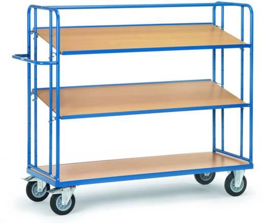 Etagenwagen Stahl pulverbeschichtet Traglast (max.): 400 kg Brillantblau (RAL 5007) Fetra 4295