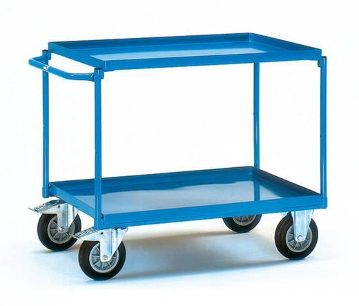 Tischwagen Stahl pulverbeschichtet Traglast (max.): 400 kg Brillantblau (RAL 5007) Fetra 4820