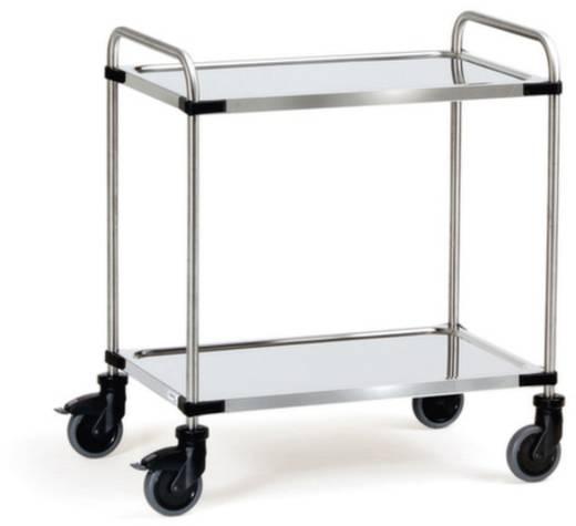 Fetra 5001 Etagenwagen Edelstahl Traglast (max.): 120 kg Chrom