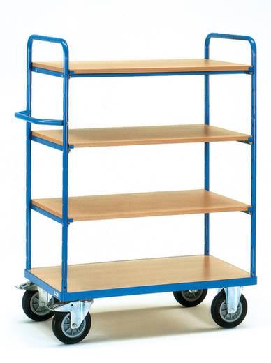 Etagenwagen Stahl pulverbeschichtet Traglast (max.): 500 kg Brillantblau (RAL 5007) Fetra 8203