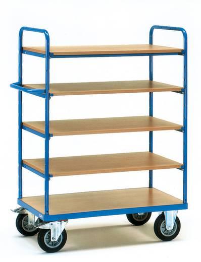 Fetra 8241 Etagenwagen Stahl pulverbeschichtet Traglast (max.): 500 kg Brillantblau (RAL 5007)