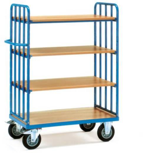Etagenwagen Stahl pulverbeschichtet Traglast (max.): 500 kg Brillantblau (RAL 5007) Fetra 8312