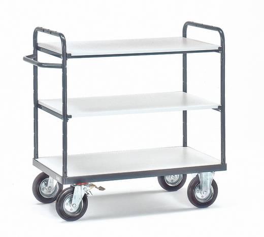 ESD-Etagenwagen Stahl Traglast (max.): 250 kg Schiefergrau (RAL 7015) Fetra 9100