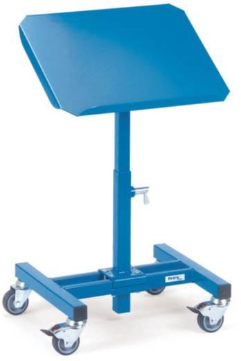 Materialständer Stahl pulverbeschichtet Traglast (max.): 150 kg Brillantblau (RAL 5007) Fetra 3282