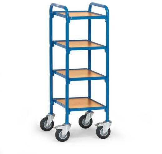 Etagenwagen Stahl pulverbeschichtet Traglast (max.): 250 kg Brillantblau (RAL 5007) Fetra 32920
