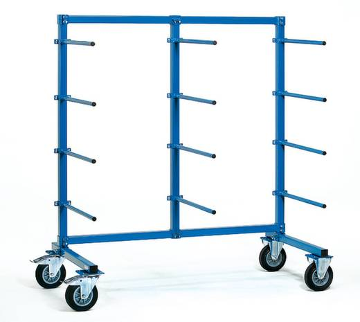 Tragarmwagen Stahl pulverbeschichtet Traglast (max.): 500 kg Fetra 4614-1