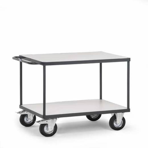 ESD-Tischwagen Stahl Traglast (max.): 500 kg Schiefergrau (RAL 7015) Fetra 9403