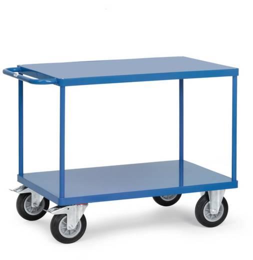Fetra 2402B Tischwagen Stahl pulverbeschichtet Traglast (max.): 500 kg Brillantblau (RAL 5007)