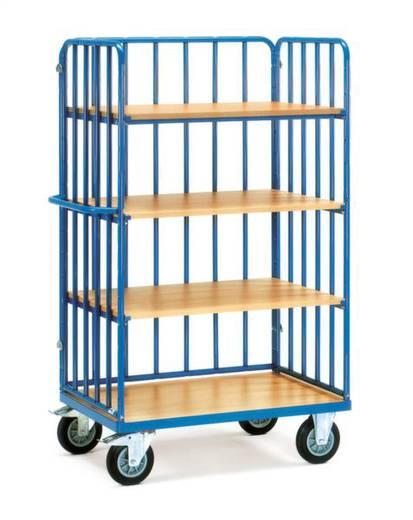 Etagenwagen Stahl pulverbeschichtet Traglast (max.): 500 kg Brillantblau (RAL 5007) Fetra 8313-1
