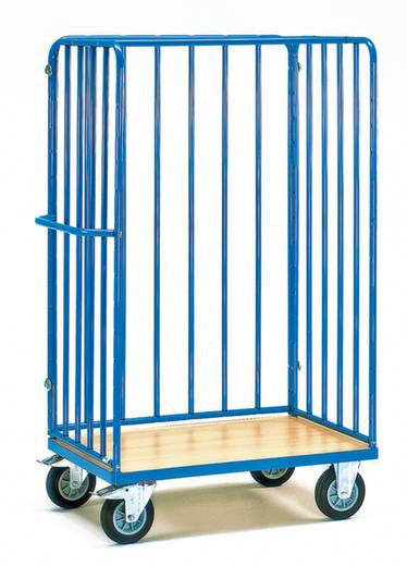 Rollbehälter Stahl pulverbeschichtet Traglast (max.): 500 kg Fetra 8382-1