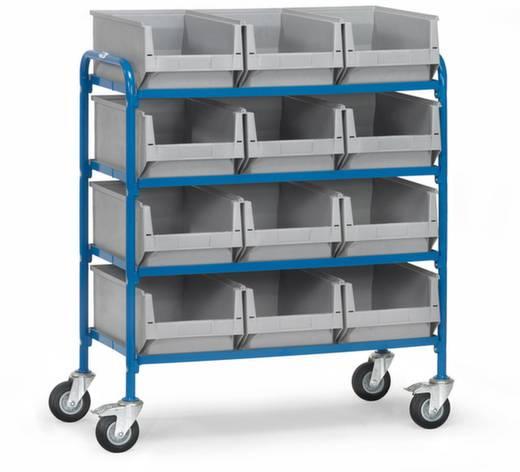 Etagenwagen Stahl pulverbeschichtet Traglast (max.): 250 kg Brillantblau (RAL 5007) Fetra 32941