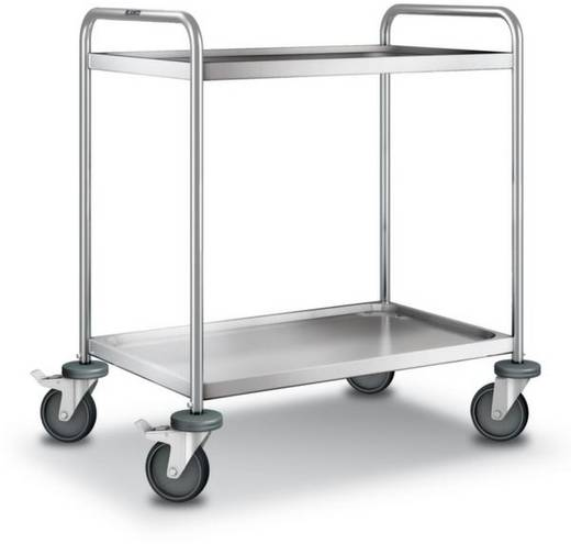 Etagenwagen Edelstahl Traglast (max.): 120 kg Edelstahl 555527