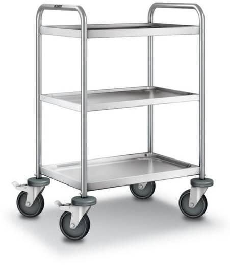 Etagenwagen Edelstahl Traglast (max.): 120 kg Edelstahl 566247