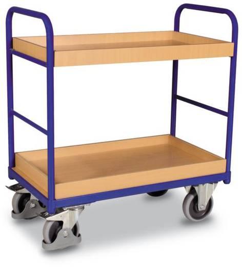 Etagenwagen Stahl pulverbeschichtet Traglast (max.): 250 kg Enzianblau (RAL 5010) VARIOfit SW-500.208