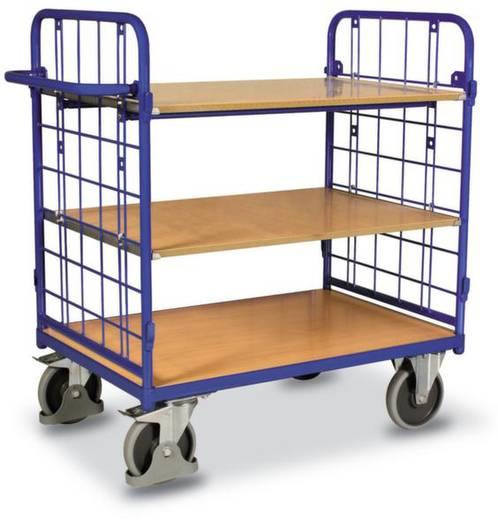 Etagenwagen Stahl pulverbeschichtet Traglast (max.): 500 kg Enzianblau (RAL 5010) VARIOfit SW-800.215