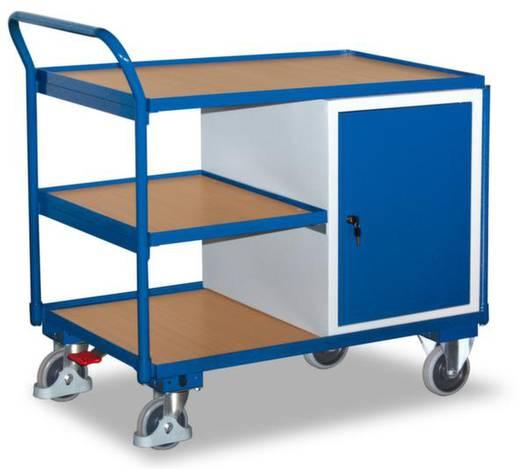 Tisch- und Schrankwagen Stahl pulverbeschichtet Traglast (max.): 250 kg Enzianblau (RAL 5010) VARIOfit SW-600.603