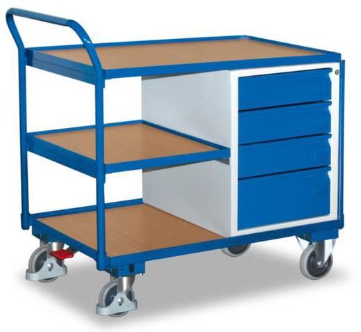 Tisch- und Schrankwagen Stahl pulverbeschichtet Traglast (max.): 250 kg Enzianblau (RAL 5010) VARIOfit SW-600.605