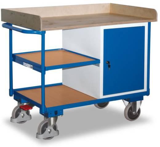 Tisch- und Schrankwagen Stahl pulverbeschichtet Traglast (max.): 400 kg Enzianblau (RAL 5010) VARIOfit SW-600.610
