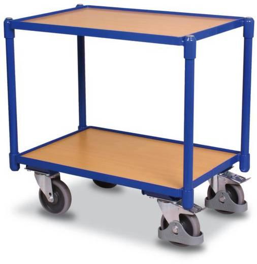 Tischwagen Stahl pulverbeschichtet Traglast (max.): 250 kg Enzianblau (RAL 5010) VARIOfit SW-410.500