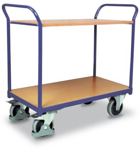 VARIOfit SW-600.502 Etagenwagen Stahl pulverbeschichtet Traglast (max.): 200 kg Enzianblau (RAL 5010)