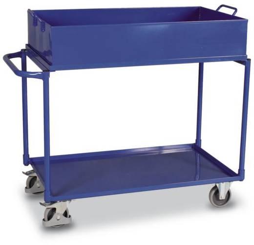 Tischwagen Stahl pulverbeschichtet Traglast (max.): 250 kg Enzianblau (RAL 5010) VARIOfit SW-600.507