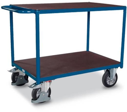 Tischwagen Stahl pulverbeschichtet Traglast (max.): 1000 kg Enzianblau (RAL 5010) VARIOfit SW-800.502