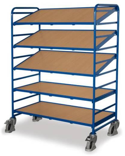 Etagenwagen Stahl pulverbeschichtet Traglast (max.): 250 kg Enzianblau (RAL 5010) VARIOfit SW-610.301