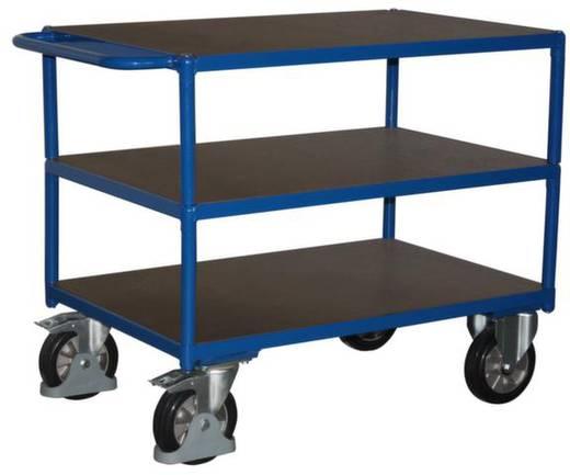 Tischwagen Stahl pulverbeschichtet Traglast (max.): 1000 kg Enzianblau (RAL 5010) VARIOfit SW-800.618