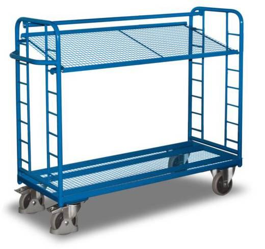 Etagenwagen Stahl pulverbeschichtet Traglast (max.): 250 kg Enzianblau (RAL 5010) VARIOfit SW-540.223