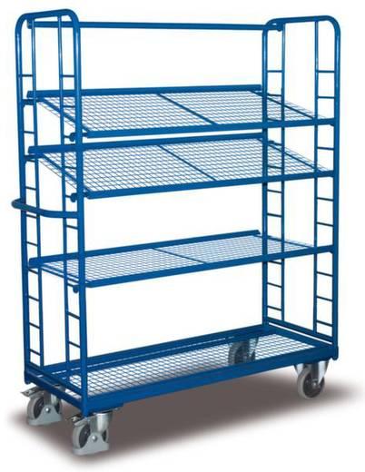 Etagenwagen Stahl pulverbeschichtet Traglast (max.): 250 kg Enzianblau (RAL 5010) VARIOfit SW-540.212