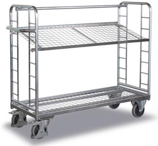 Etagenwagen Stahl pulverbeschichtet Traglast (max.): 250 kg Verzinkt VARIOfit SW-540.224