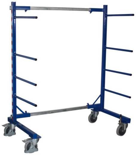 Tragarmwagen Stahl pulverbeschichtet Traglast (max.): 400 kg VARIOfit SW-130.006