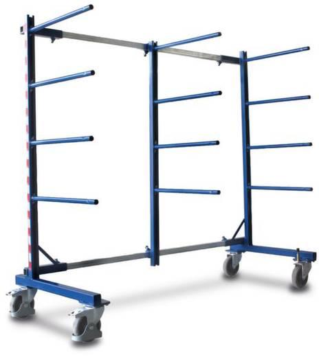Tragarmwagen Stahl pulverbeschichtet Traglast (max.): 400 kg VARIOfit SW-210.006