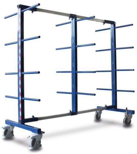 Tragarmwagen Stahl pulverbeschichtet Traglast (max.): 400 kg VARIOfit SW-310.007