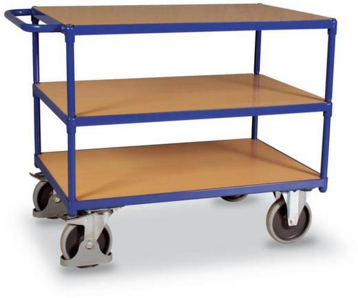 VARIOfit SW-600.512 Tischwagen Stahl pulverbeschichtet Traglast (max.): 500 kg Enzianblau (RAL 5010)