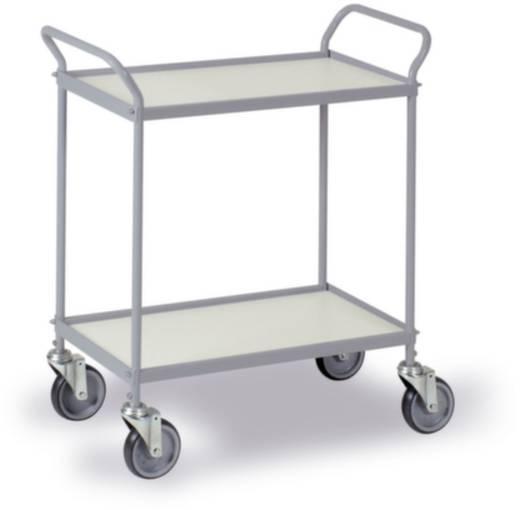 0034G Allzweckwagen Stahl pulverbeschichtet Traglast (max.): 150 kg Silber-Grau