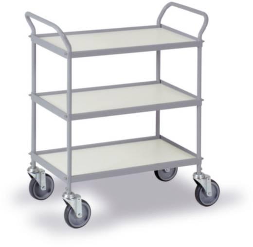 Allzweckwagen Stahl pulverbeschichtet Traglast (max.): 150 kg Silber-Grau 0035G