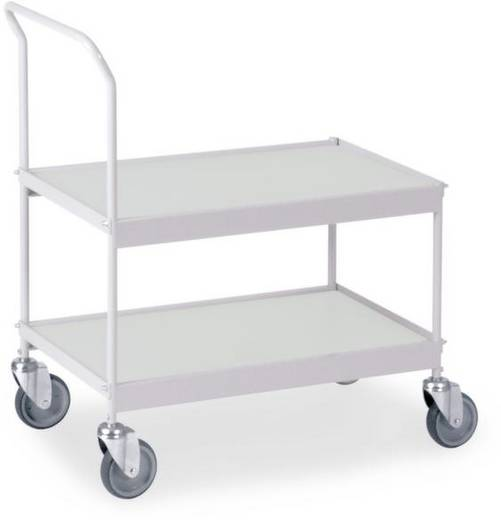 0341G Allzweckwagen Stahl pulverbeschichtet Traglast (max.): 150 kg Silber-Grau