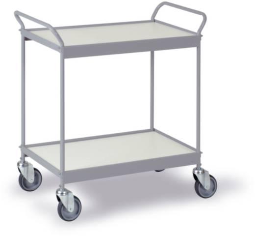 0200G Etagenwagen Stahl pulverbeschichtet Traglast (max.): 150 kg Silbergrau (RAL 7001)