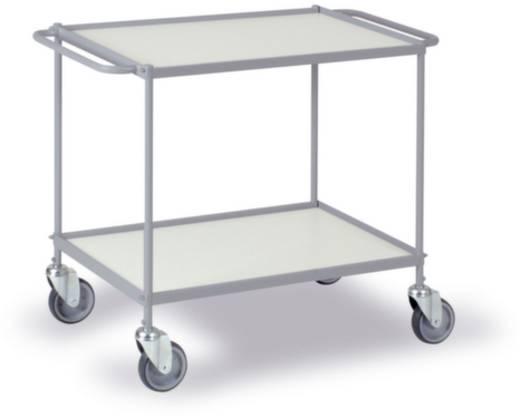 0338G Etagenwagen Stahl pulverbeschichtet Traglast (max.): 150 kg Silber-Grau