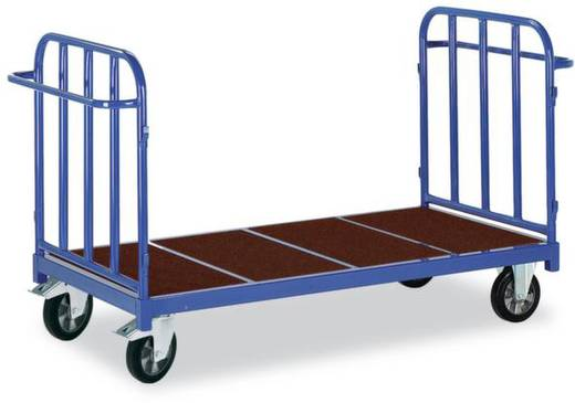 Schwerlastwagen Stahl pulverbeschichtet Traglast (max.): 1200 kg ROLLCART 02-1252