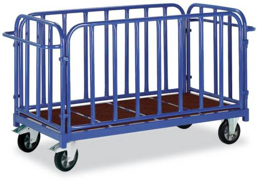 Schwerlastwagen Stahl pulverbeschichtet Traglast (max.): 1200 kg ROLLCART 02-1264