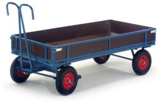 Handpritschenwagen Stahl pulverbeschichtet Traglast (max.): 700 kg ROLLCART 15-15101