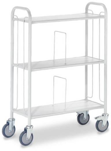 Bürowagen Stahl pulverbeschichtet Traglast (max.): 150 kg ROLLCART AUG 63